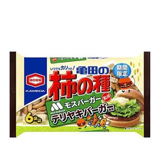 カメダセイカ(亀田製菓)の亀田製菓 亀田の柿の種テリヤキバーガー風味6袋詰 182g(菓子/デザート)