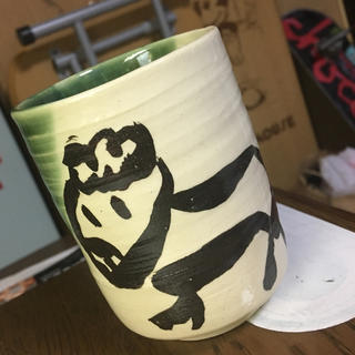 自作 陶器 コップ(陶芸)