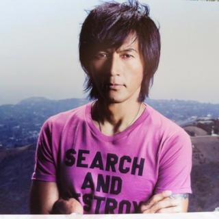 ヒステリックグラマー(HYSTERIC GLAMOUR)のB'z 稲葉浩志さん着用 ヒステリックグラマー Tシャツ SCENES(ミュージシャン)