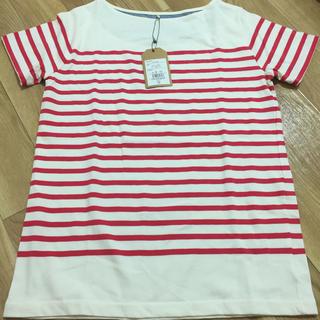 シマムラ(しまむら)の新品未使用 ボーダーTシャツ(Tシャツ(半袖/袖なし))