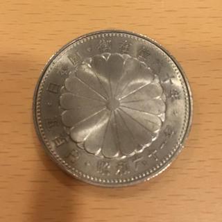 古銭 昭和六十一年 天皇陛下 御在位六十年 記念硬貨 500円玉(貨幣)