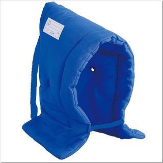 デビカ 防災頭巾 ブルー サイズ:約W30×D7×(その他)