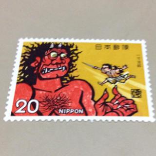 送料無料 切手 一寸法師20(切手/官製はがき)