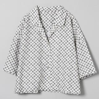 ジーナシス(JEANASIS)のカイキンショートシャツ JEANASIS(シャツ/ブラウス(半袖/袖なし))