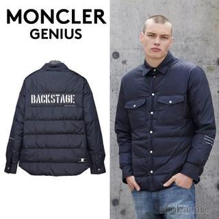モンクレール(MONCLER)のMONCLER GENIUS × FRAGMENT ダウンシャツ 2(ダウンジャケット)