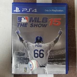 プレイステーション4(PlayStation4)の《PS4》MLB THE SHOW15(家庭用ゲームソフト)