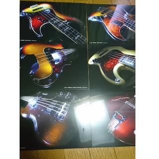 フェンダー(Fender)の非売品!フェンダー ギブソン ギター ベース ポストカード 新品(その他)