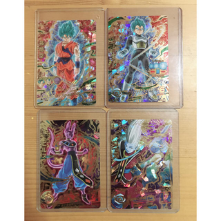 バンダイ(BANDAI)のドラゴンボールヒーローズ アルティメット 4種(カード)