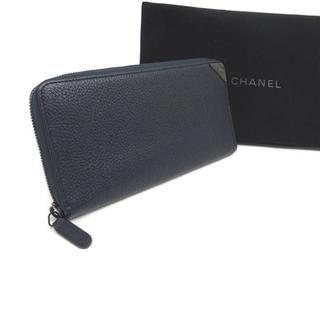 シャネル(CHANEL)のシャネル CHANEL 長財布 グレインドブル 24番台 1078(長財布)