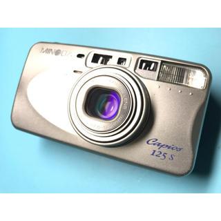 コニカミノルタ(KONICA MINOLTA)の多機能 高級コンパクトフィルムカメラ MINOLTA Capios125s(フィルムカメラ)