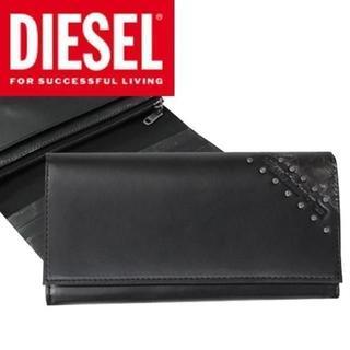 ディーゼル(DIESEL)のDIESEL ディーゼル 長財布 メンズ ブラック シンプル(長財布)