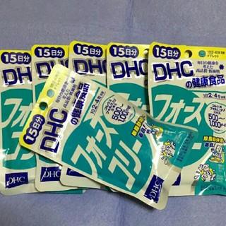 ディーエイチシー(DHC)の新品 未開封💗DHC💗フォースコリー〔15日分〕×6個セット💗90日分💗(ダイエット食品)