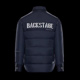 モンクレール(MONCLER)の国内正規品 サイズ1 MONCLER FRAGMENT ダウンシャツジャケット(ダウンジャケット)