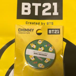 ボウダンショウネンダン(防弾少年団(BTS))のBT21 マスキングテープ CHIMMY(アイドルグッズ)