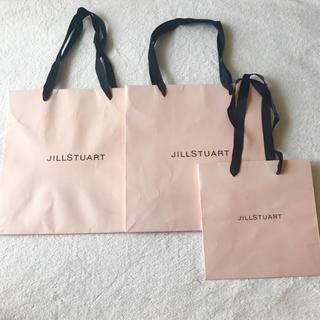 ジルスチュアート(JILLSTUART)の3枚セット❣️ JILL STUART ジルスチュアート ♥︎ ショップ袋 紙袋(ショップ袋)