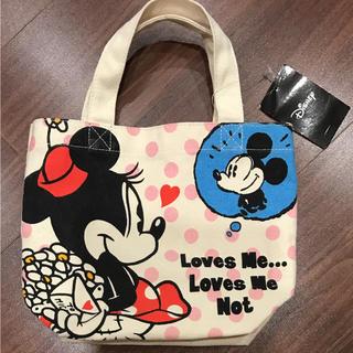 ディズニー(Disney)の【未使用】ミッキー ミニー ミニトートバッグ(トートバッグ)