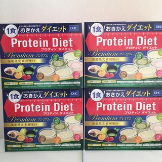 DHC プロテインダイエット プレミアム15食分×4箱(ダイエット食品)