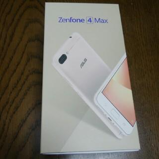 エイスース(ASUS)のASUS ZenFone 4 Max ZC520KL ゴールド SIMフリー(スマートフォン本体)