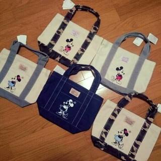 ディズニー(Disney)の新品タグ付き♡ミニートート♡キャンバストート♡ディズニー♡ミニー鞄♡ミニーバッグ(トートバッグ)
