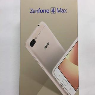 エイスース(ASUS)の新品未開封 ASUS Zenfone4 Max ゴールド  ZC520KL(スマートフォン本体)