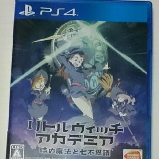 プレイステーション4(PlayStation4)のリトルウィッチアカデミア PS4 ✨~時の魔法と七不思議(家庭用ゲームソフト)