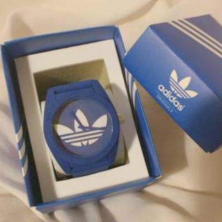 アディダス(adidas)のアディダス 時計 青(腕時計(アナログ))