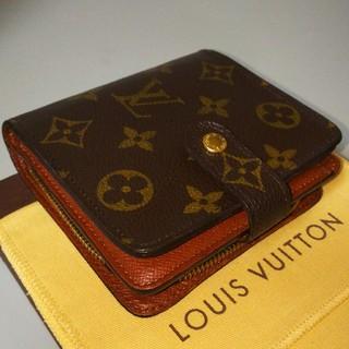 ルイヴィトン(LOUIS VUITTON)の【正規品】LOUIS VUITTON モノグラム コンパクトジップ(財布)