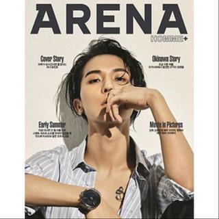 ビッグバン(BIGBANG)のWINNER MINO 表紙 ARENA フレグランス スローガン CD DVD(アイドルグッズ)