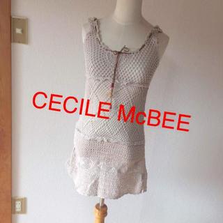 セシルマクビー(CECIL McBEE)のかぎ編みチュニック(チュニック)