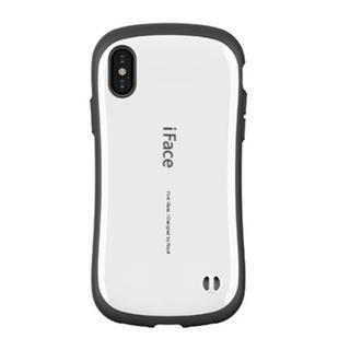 iFace iPhoneX (白)ストラップホール付き (iPhoneケース)