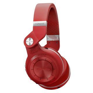 売れ筋商品!高性能 折畳回転式 レッドBluetooth ワイヤレスヘッドホン (ヘッドフォン/イヤフォン)