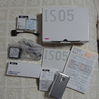シャープ(SHARP)のau スマートフォン セット  IS05  SHARP (スマートフォン本体)