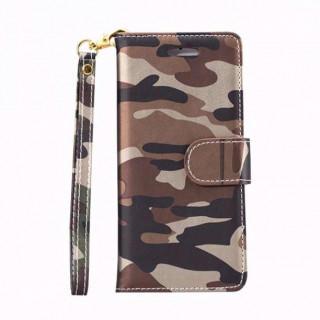 在庫処分価格!迷彩ブラウン iPhone7,8ケース カモフラ柄(iPhoneケース)