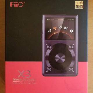 FIIO X3 2nd gen(ポータブルプレーヤー)