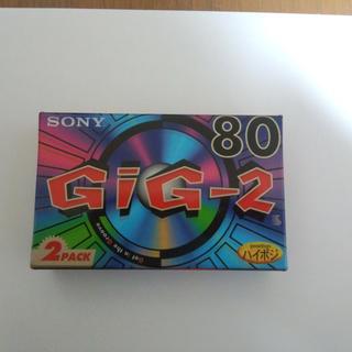 ソニー(SONY)の80分×2本 ハイポジ SONY カセットテープ 新品未開封 送料込(その他)