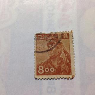 古切手 8円(切手/官製はがき)