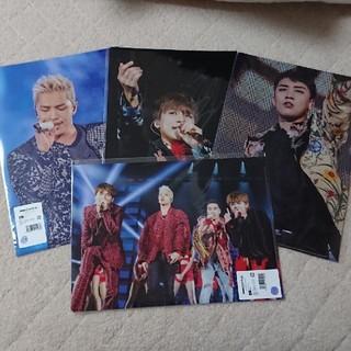 ビッグバン(BIGBANG)のBIGBANG DMM スクラッチ クリアファイル(K-POP/アジア)