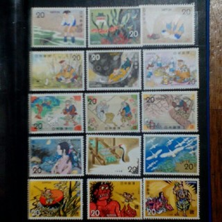 昔話  切手(切手/官製はがき)