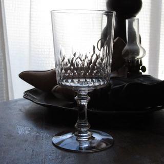 バカラ(Baccarat)の アンティークバカラ1910年頃「Cylindrique 5777」H15㎝(グラス/カップ)