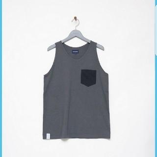 ダブルタップス(W)taps)のDESCENDANT CACHALOT / NO SLEEVE /  NAVY(Tシャツ/カットソー(半袖/袖なし))