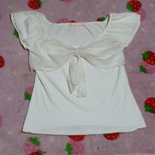 ロジータ(ROJITA)のロジータ リボントップス(カットソー(半袖/袖なし))