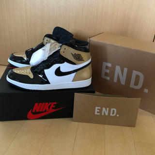 ナイキ(NIKE)のAIR JORDAN 1 RETRO HIGH OG NRG GOLD TOE(スニーカー)