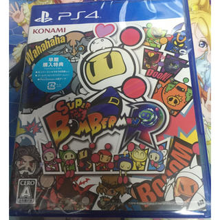 プレイステーション4(PlayStation4)の【送料無料】新品 PS4 スーパーボンバーマンR(家庭用ゲームソフト)