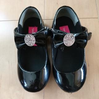ディズニー(Disney)のビビディバビディブティック シューズ 靴 フォーマル 黒 ブラック 19(フォーマルシューズ)