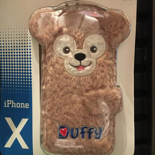 ダッフィー(ダッフィー)の香港ディズニーダッフィーiPhoneX携帯ケース(キャラクターグッズ)