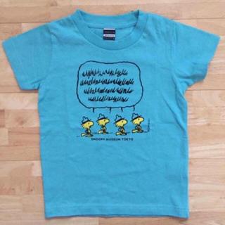 スヌーピー(SNOOPY)のsnoopy museum キッズ 110 Tシャツ ウッドストック スヌーピー(Tシャツ/カットソー)