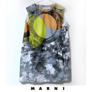 マルニ(Marni)のMARNIマルニのチュニックトップス 美品(ミニワンピース)