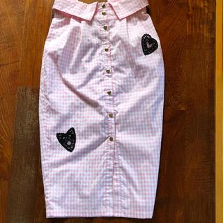 ハニーミーハニー(Honey mi Honey)のハニーミーハニー PINKスカート(ひざ丈スカート)