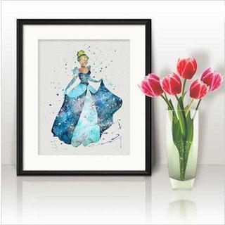 ディズニー(Disney)の日本未発売!シンデレラ2・アートポスター【額縁付き・送料無料!】(ポスター)