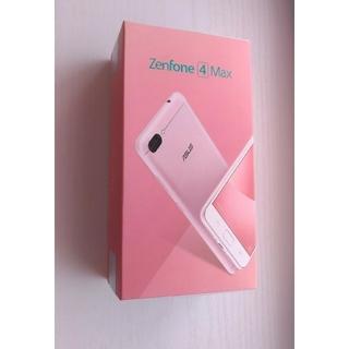 エイスース(ASUS)のASUS Zenfone 4 max ガラスフィルム 新品 国内版(スマートフォン本体)